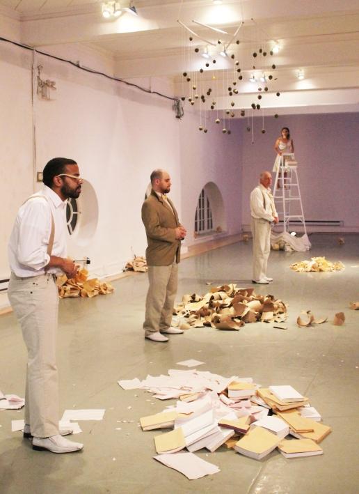 In Search of Mrs. Pirandello - Rialto Studio - photo credit Liv Wright
